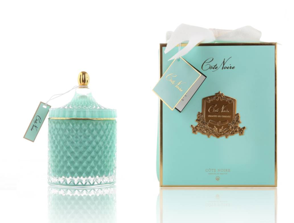 Свеча Cote Noire GRAND BLUE ART DECO CANDLE