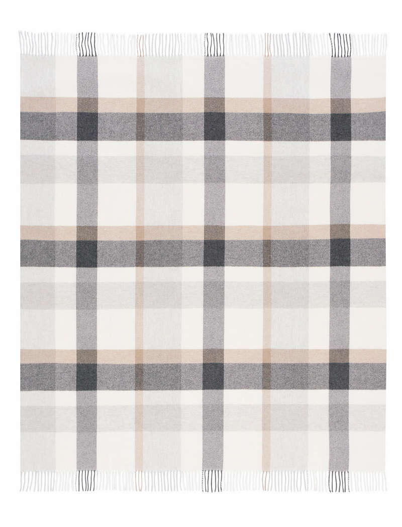 Плед Biederlack CHECK WOOL (725554) 130х170