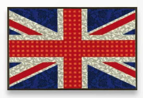 Коврик Kleen-Tex UNION JACK 50х75