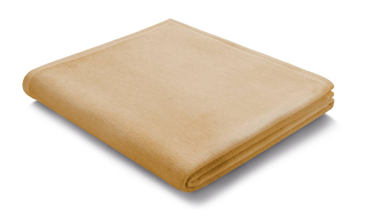 Плед Biederlack PURE COTTON (239701) Beige 150х200