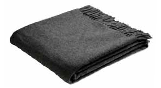 Плед Biederlack ANTHRACITE WOOL (676290) 130х170