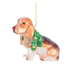 Игрушка елочная Giftcompany BEAGLE MIT COLLIER