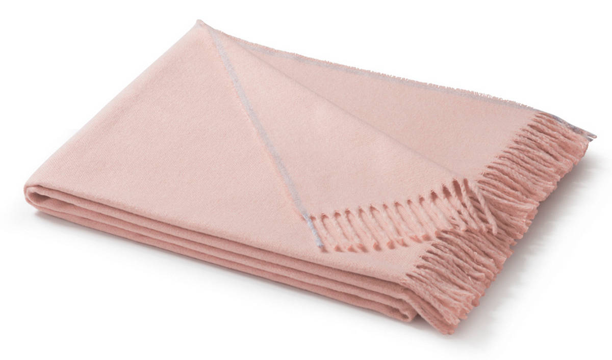 Плед Biederlack SOFT IMPRESSION (715807) rose 130х170