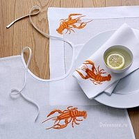 Салфетка Eri Textiles LOBSTER 50х50