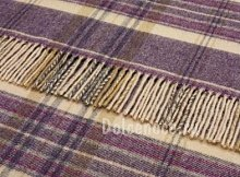 Плед Bronte (CRA36-A02) PLUM HEATHER CHECK