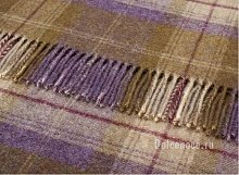 Плед Bronte (HM21-B05) VHBONE GRAPE SHETLAND