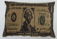 Подушка FS Home DOLLAR 45х65