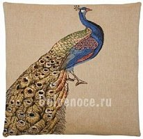 Подушка FS Home Collection PEACOCK GOLD FEATHERS 1443-1 45х45