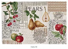 Подтарельник Sander APPLES & PEARS 32х48 (цвет 40)