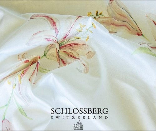 Постельное белье Schlossberg LILLY-ROYAL blanc Jersy евро