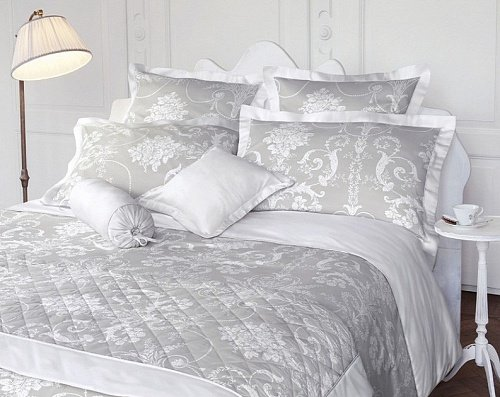 Постельное белье Laura Ashley DORSET v.7-12898 (silver) 200х200 евро